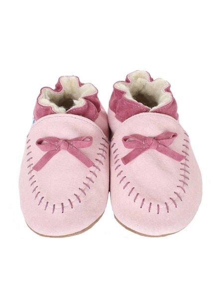 Robeez Robeez Cozy Moccasin Soft Soles - Infant