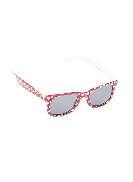 Kids Sport Themed Wayfarer Sunglasses - Baseball