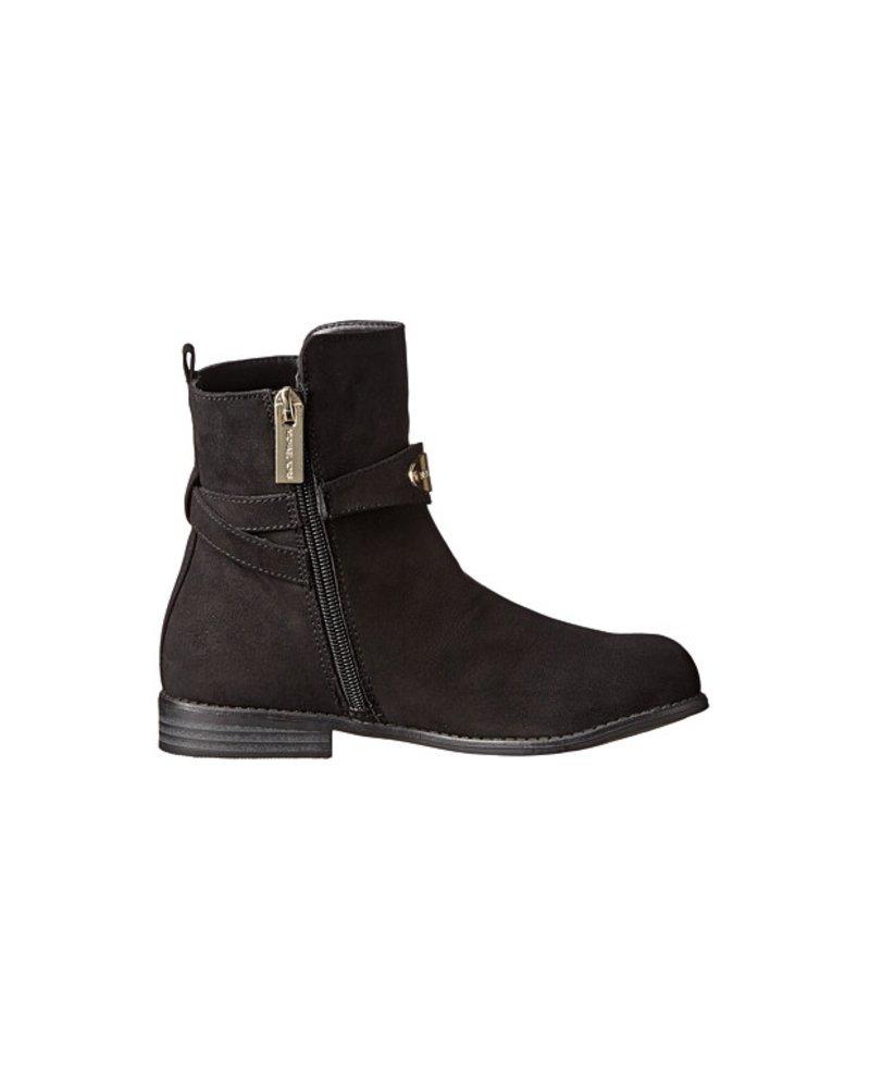 Michael Kors Michael Kors 'Emma May' Low Boot - Black Suede