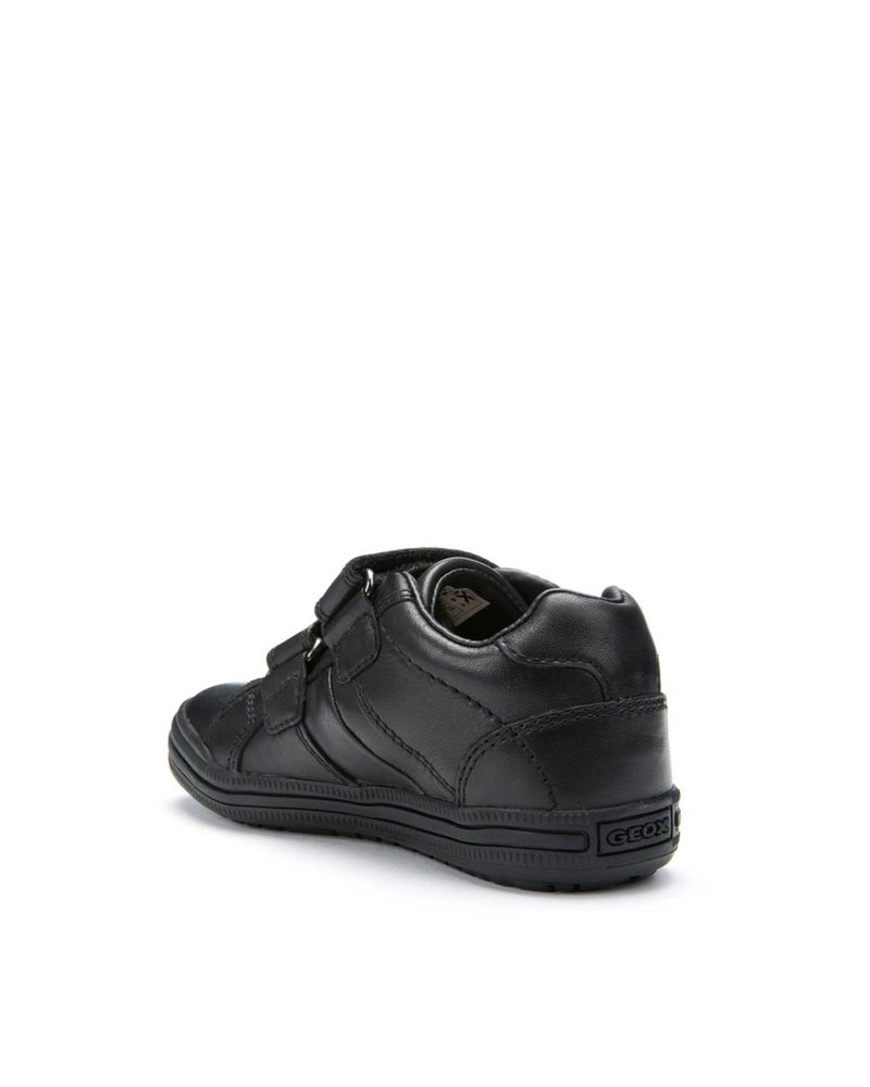 GEOX Geox 'Elvis' - Black Leather