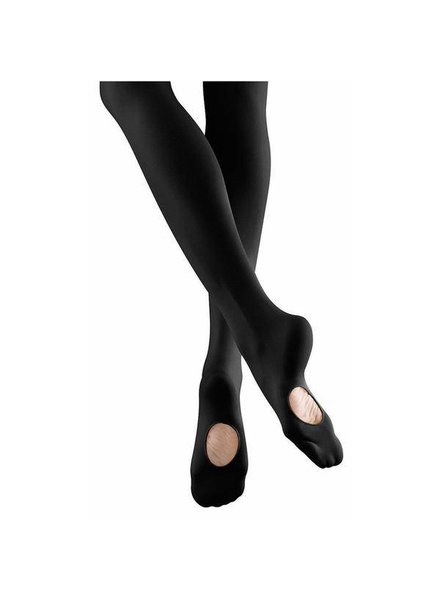 Mondor Mondor 'CONVERTIBLE' foot Ultra Soft Tight - Black