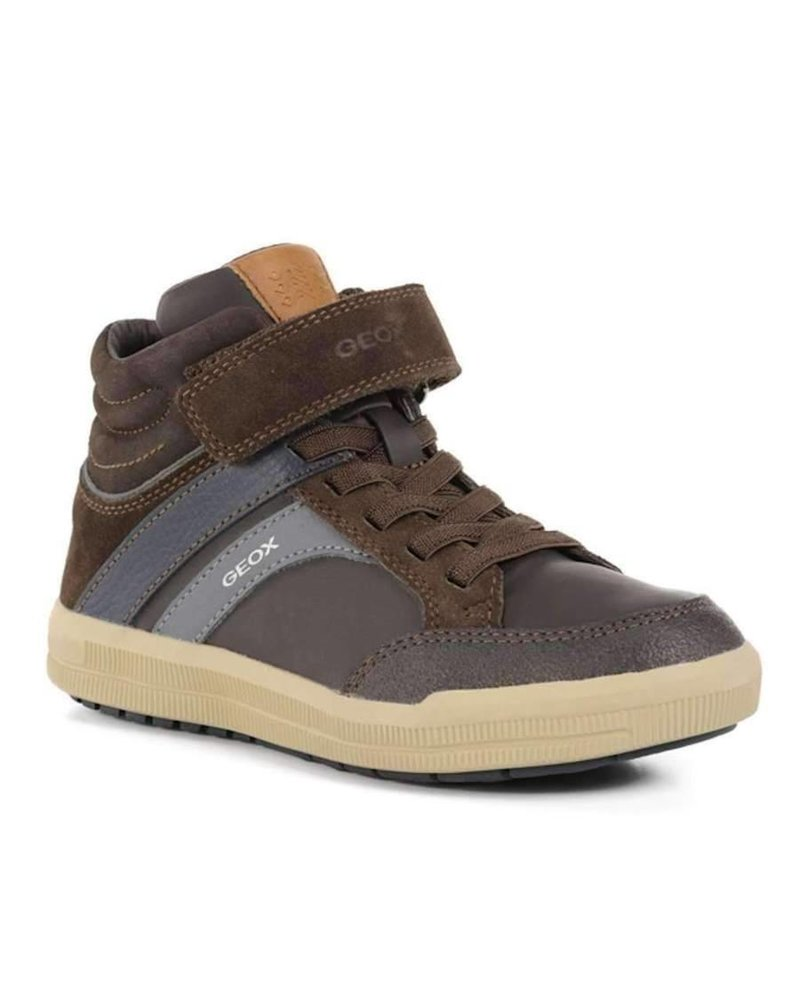 GEOX Geox 'J ARZACH' - Brown/Navy Suede/Leather