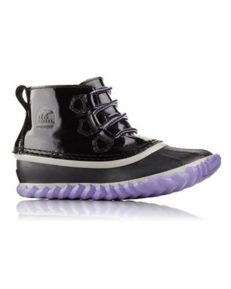 Sorel Sorel OUT 'N ABOUT™ PATENT LEATHER - Black/Purple