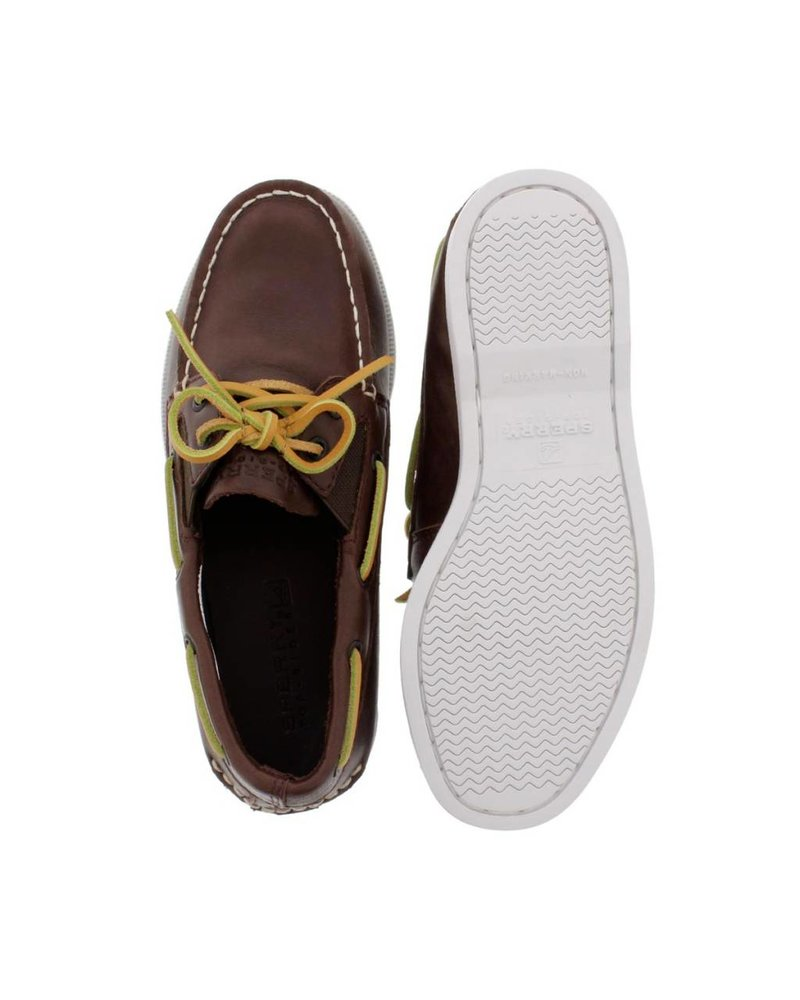 Sperry SPERRY A/O SLIP ON - Brown Leather