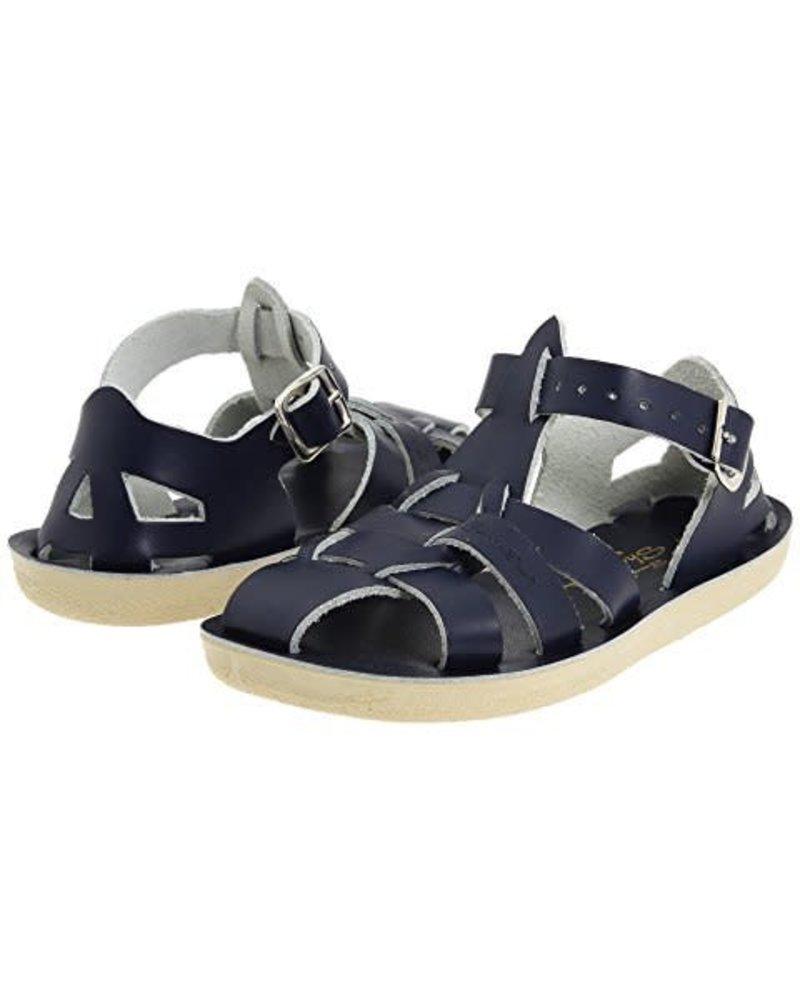 Salt Water Sandals Salt Water 'SHARKS' - Navy Blue