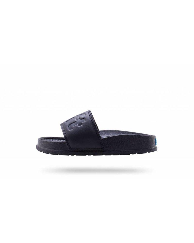 People Footwear THE LENNON SLIDE - Really Black - Sole Kids Shoe Company 14be7d644c3