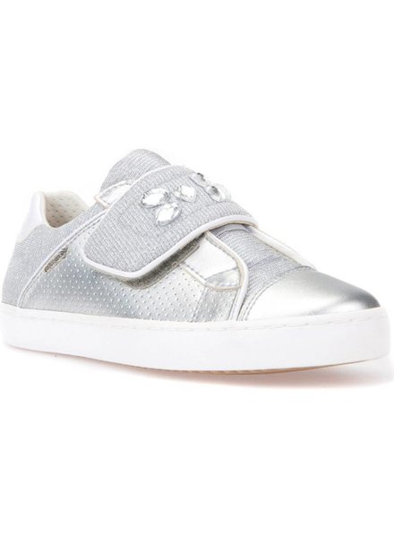 GEOX Geox KILWI Metallic Embellished Sneaker - Toddler & Youth