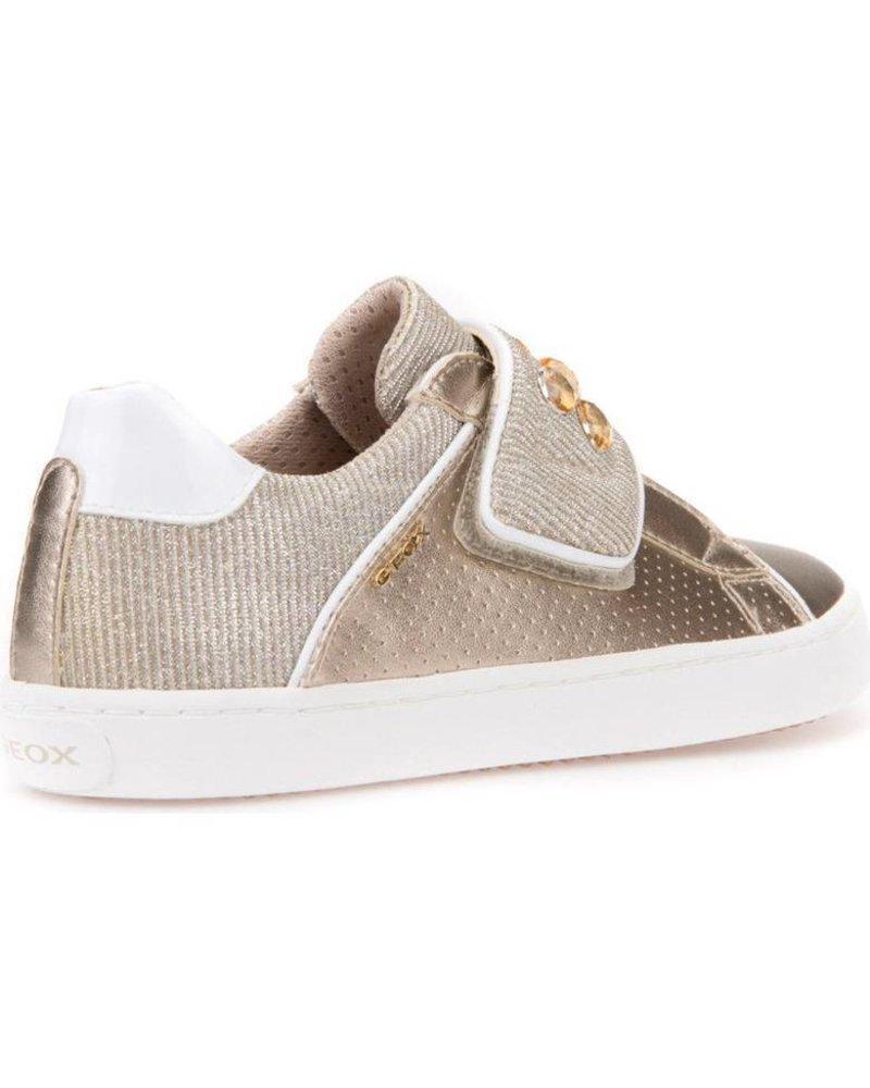 GEOX Geox KILWI Metallic Embellished Sneaker - Gold