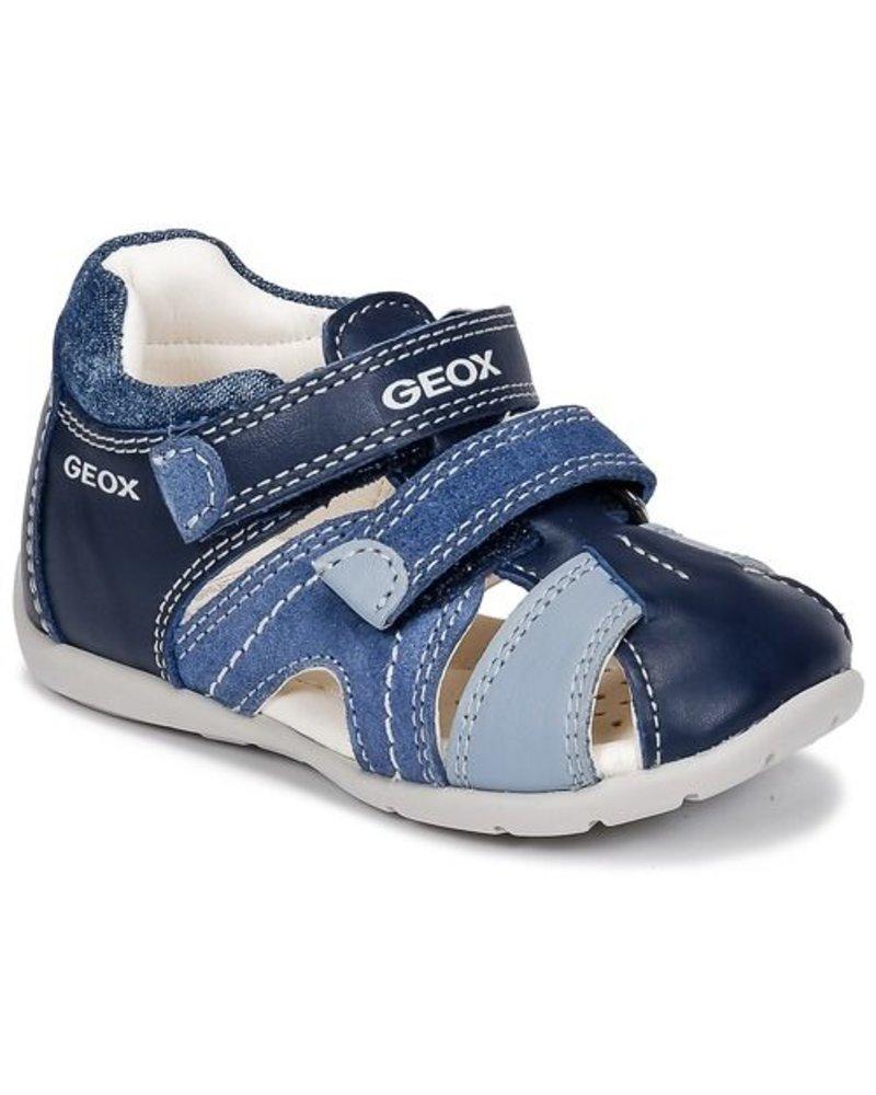 Geox B KAYTAN Nappa+ Suede - Navy Avio - Sole Kids Shoe Company 39ab7fa0ecad