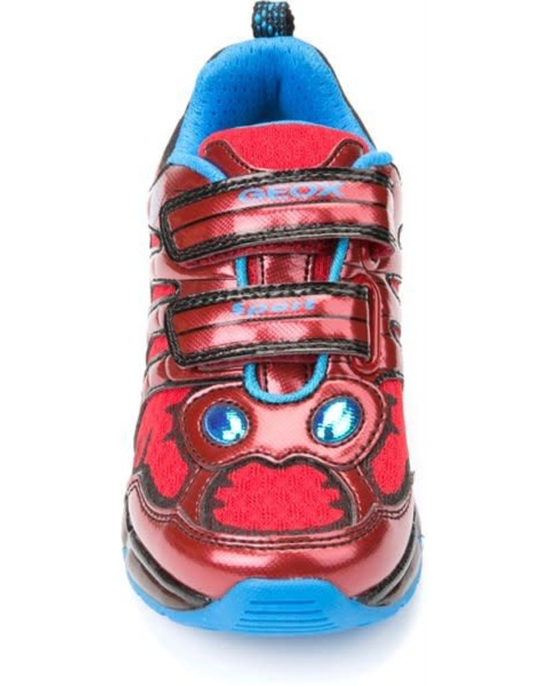GEOX Geox J ANDROID Illuminated Sneaker - Red