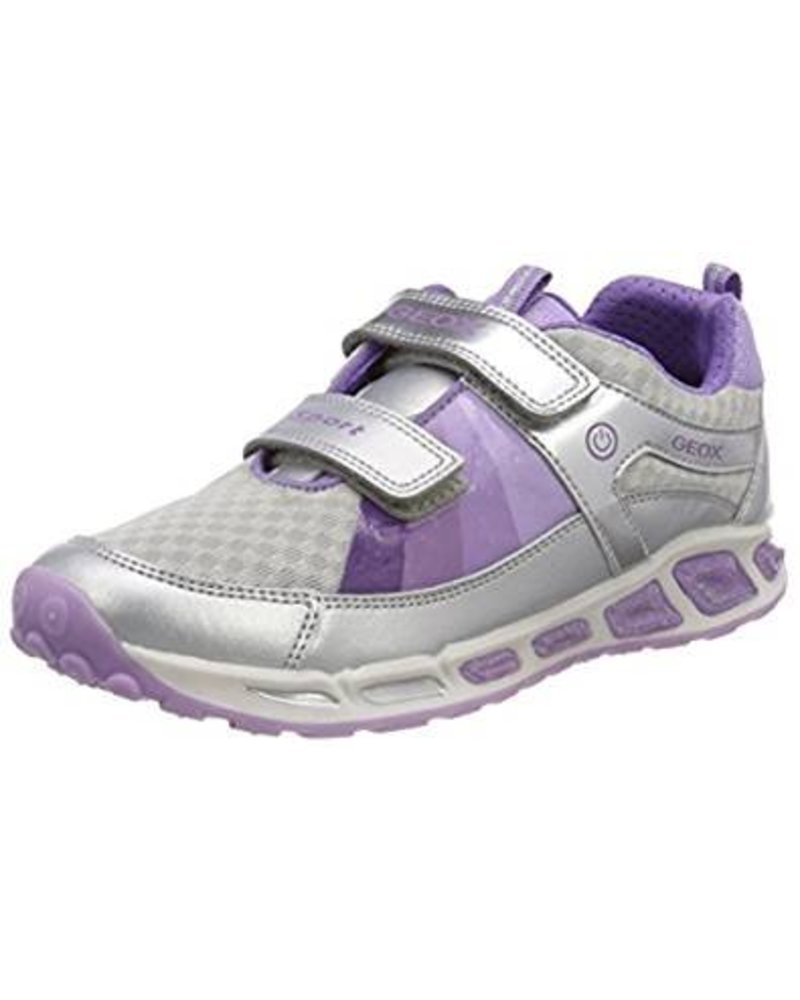 GEOX Geox 'J SHUTTLE' - Sillver and Lilac