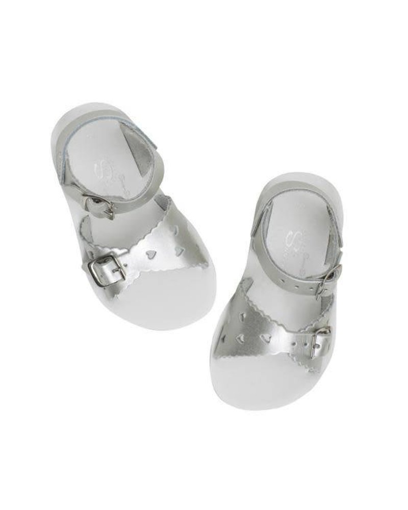 "Salt Water Sandals Salt Water Sandals  ""SWEETHEART"" - SILVER"