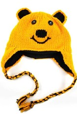Child Wool Animal Hat