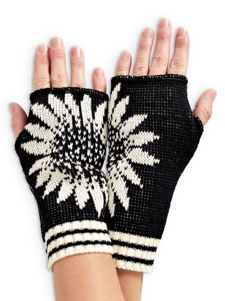 Coneflower Handwarmers