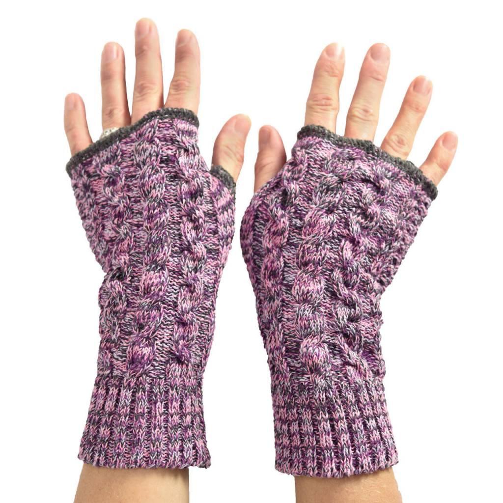 Lilac Space Dye Handwarmers