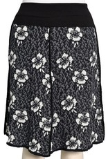 Floral 4 Panel Skirt
