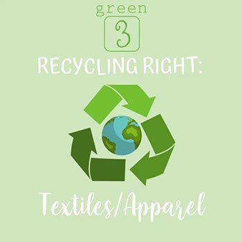RECYCLE RIGHT: Apparel & Textiles