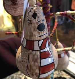 Polar Bear Gourd Ornament