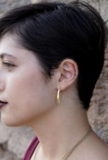 Faux Hoops - Brass
