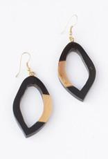 Freeform Horn Earrings