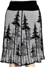 Snowy Tree 4-Panel Skirt