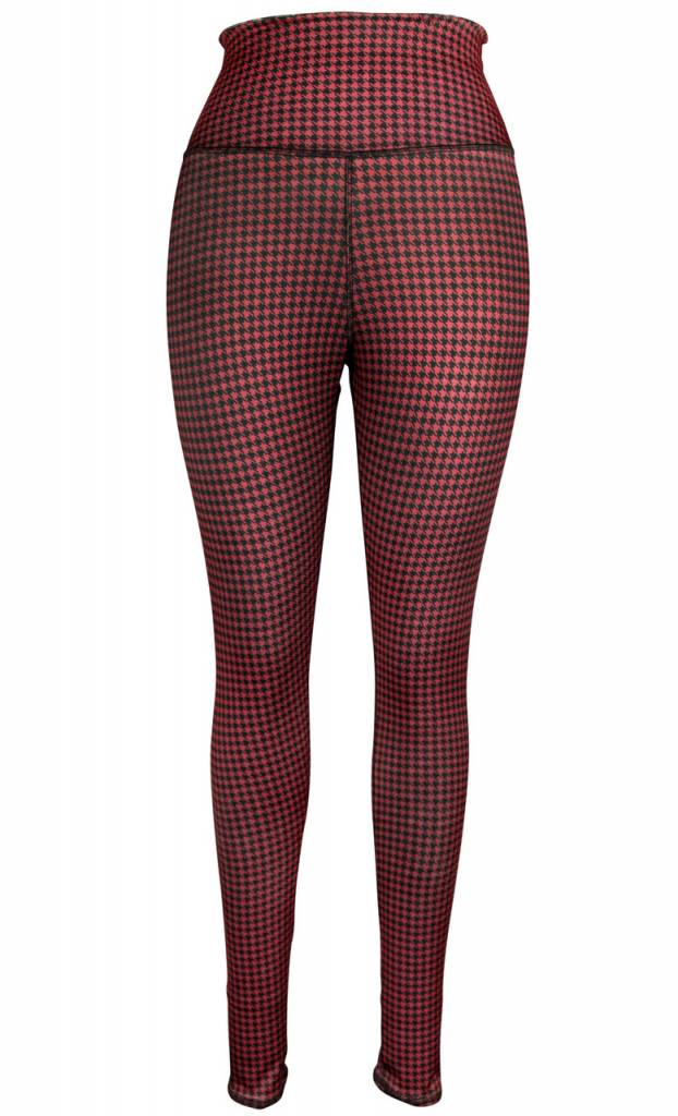 Clothes Cat & Houndstooth Rev. Leggings