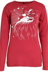 Green 3 Apparel Classic Santa Red
