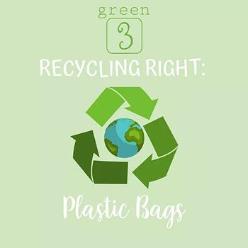RECYCLE RIGHT: Plastic Bags
