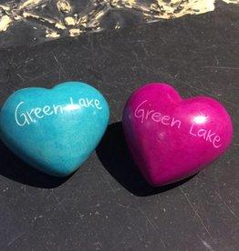 Green Lake Soapstone Heart