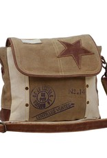 Leather Star Shoulder Bag