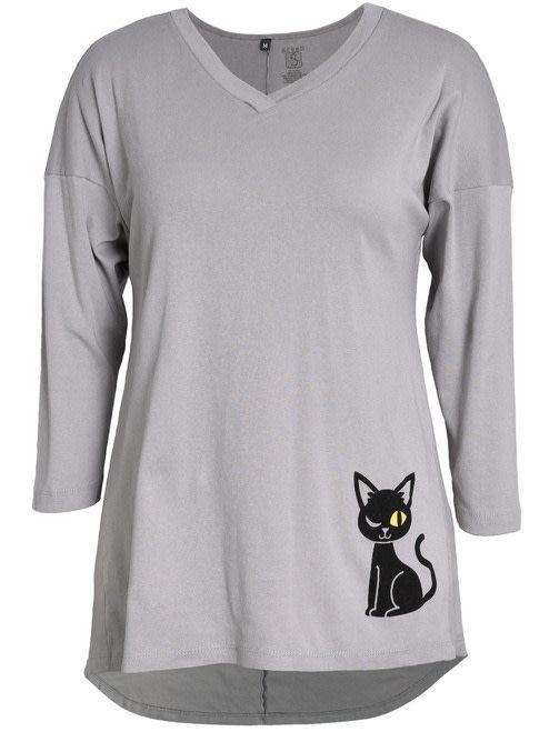 Winking Cat Dolman Tunic