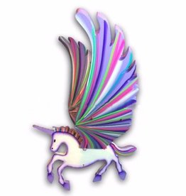Tulia's Artisan Gallery Unicorn Flying Mobile