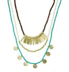 WorldFinds Sea & Earth Layered Necklace
