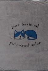 Purr-Crastinator Blanket
