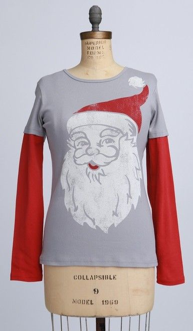 Green 3 Apparel Big Santa