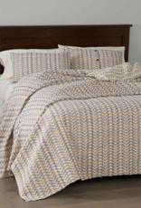 Multicolor Brocade Bedcover-Queen