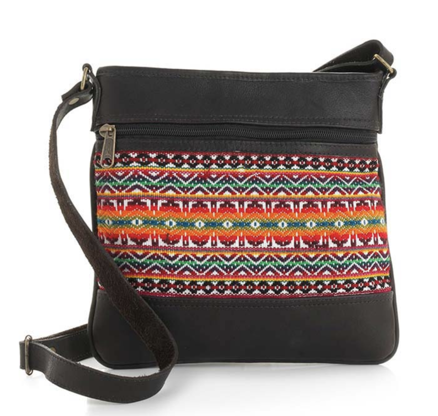 Multi Leather Crossbody Bag