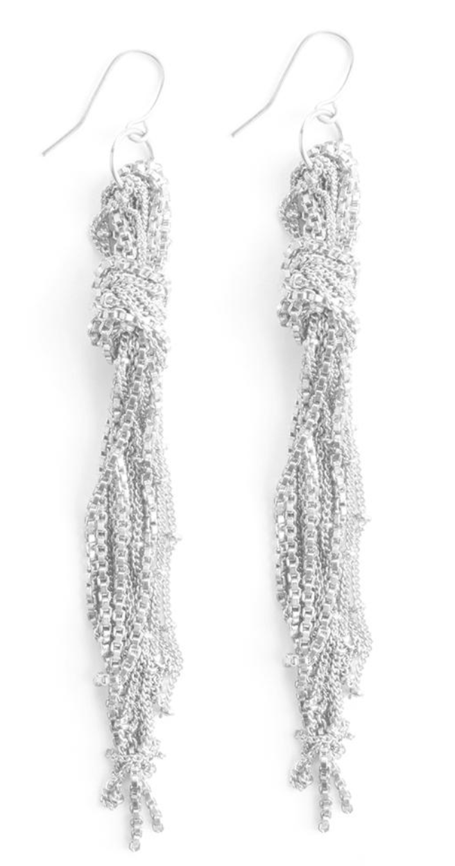 Mata Traders Knotted Fringe Earrings