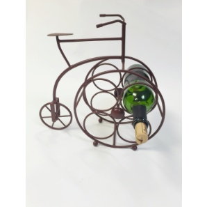 Mira Fair Trade Bicycle Wine Rack