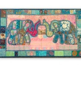 Mira Fair Trade Elephant Wall Tapestry-Medium