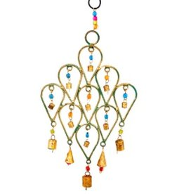 Mira Fair Trade Multi Beaded Chime