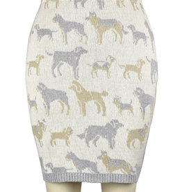 Featherweight Dog Pencil Skirt