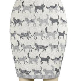 Featherweight Cat Pencil Skirt