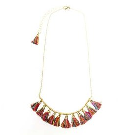 Raja Tassel Necklace