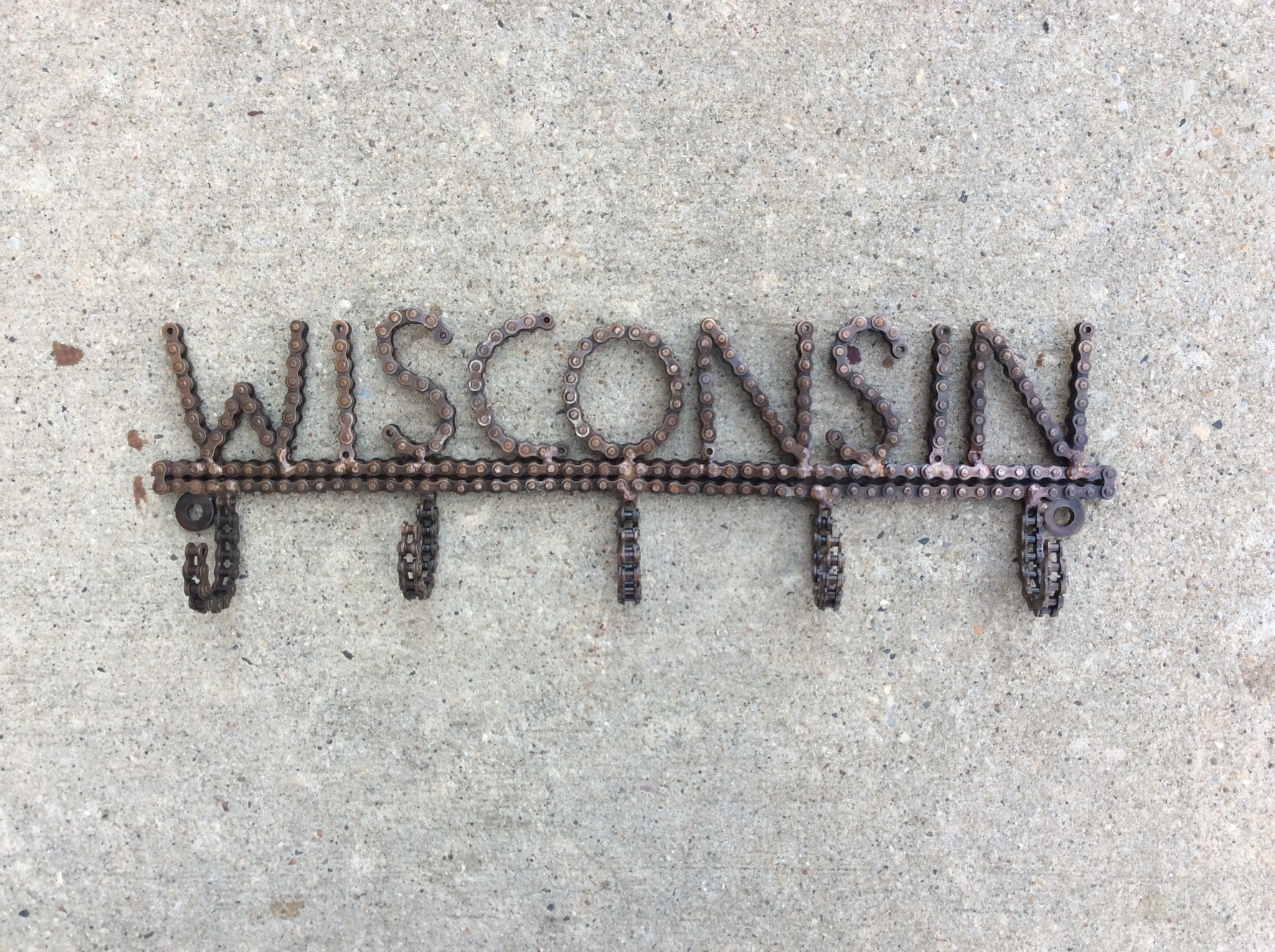 Wisconsin Bicycle Chain Hook