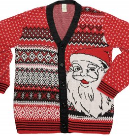 Green 3 Apparel Santa Cardigan