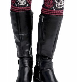 Green 3 Apparel Skull Boot Cuffs