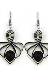 Onyx Lotus Swirl