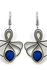 Sapphire Lotus Swirl