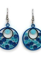 Sea of Blue Swirls